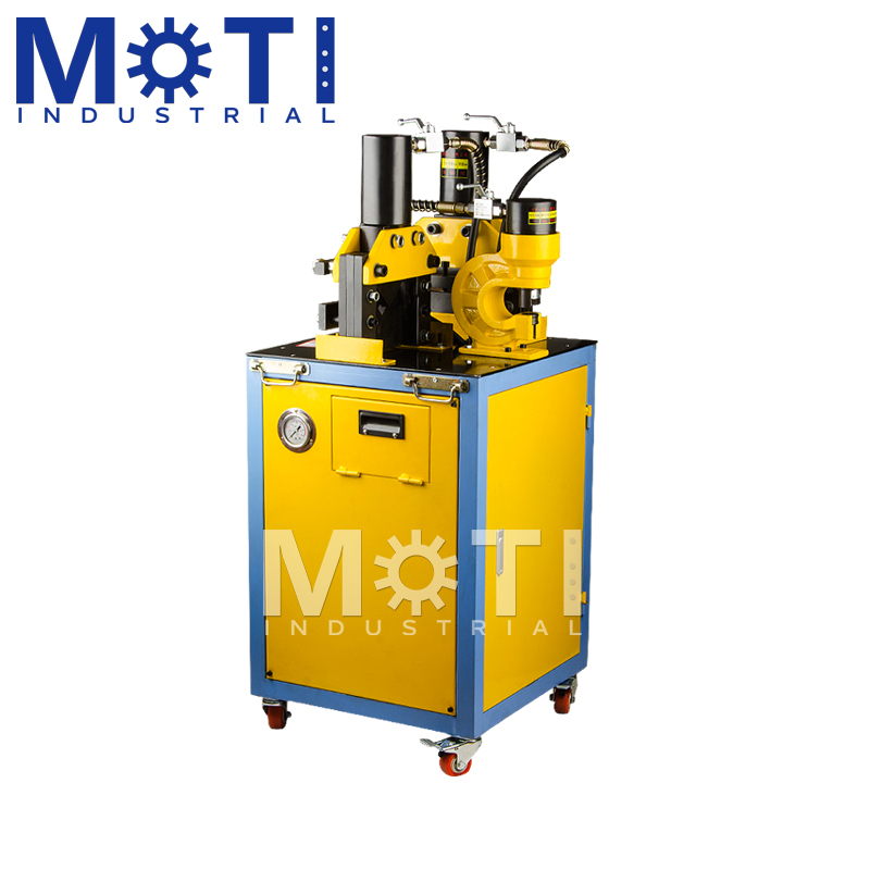 MOTI-301D Steel Angles Punching Cutting Machine